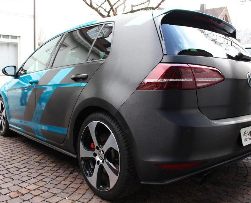 Golf 7 GTI Design folierung – wtfolierung