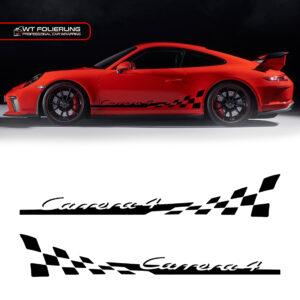 Porsche 911 Carrera Streifen Aufkleber